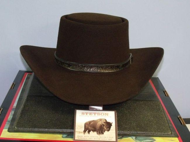 8d49a22f2 Stetson Revenger Buffalo Felt Western Gambler Hat - One 2 mini Ranch