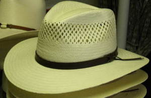 5721e0fd5b6 Stetson Digger Vented Shantung Straw Hat - One 2 mini Ranch