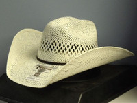 M&F T71620 Twister Jute Straw Cowboy Hat