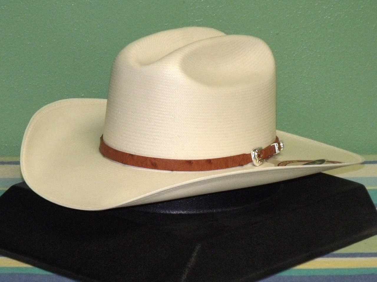 ab3e6669a1343 ... Shantung Cowboy Hat. Loading zoom. Hover over image to zoom