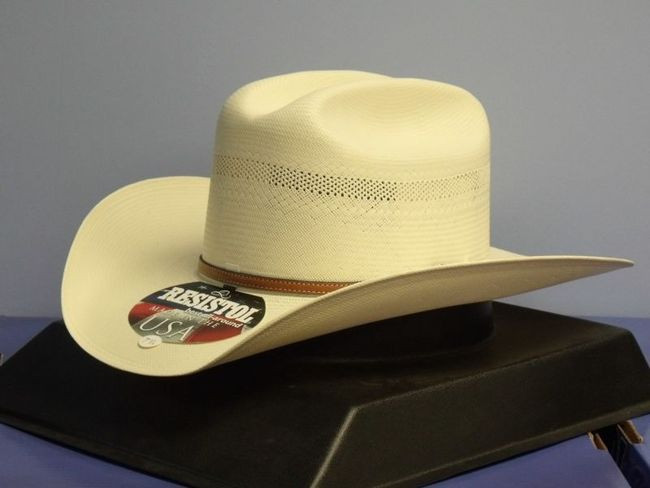 b686d22a69156 Resistol Sutter 200X Long Oval Straw Cowboy Hat - One 2 mini Ranch