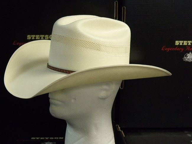 a100a7711f903 Stetson Griffin 100X Straw Cowboy Western Hat - One 2 mini Ranch