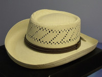 Black Creek 9016 Straw Gambler Western Hat