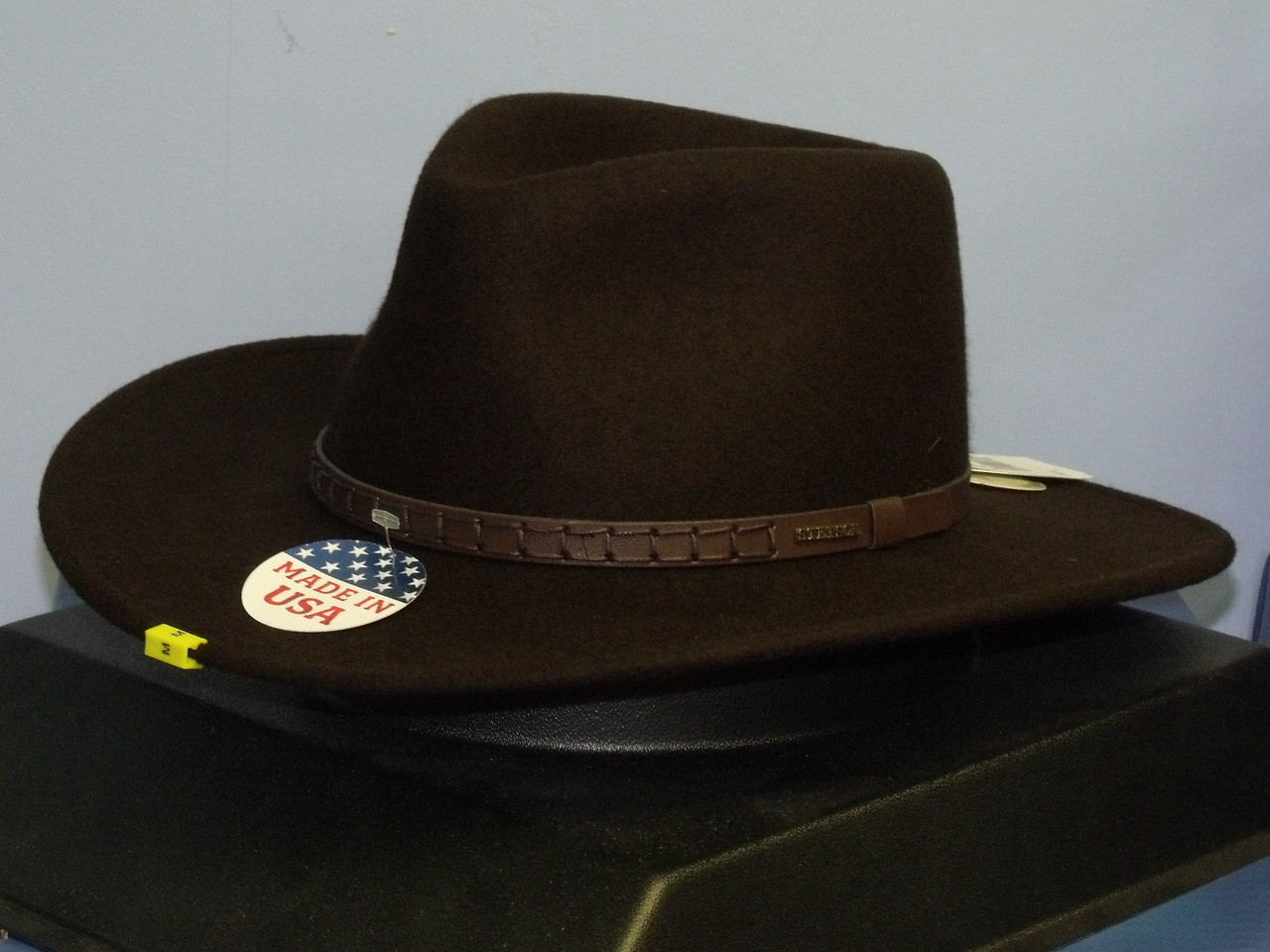 eca84843fe5 Stetson Sturgis Crushable Wool Western Hat - One 2 mini Ranch