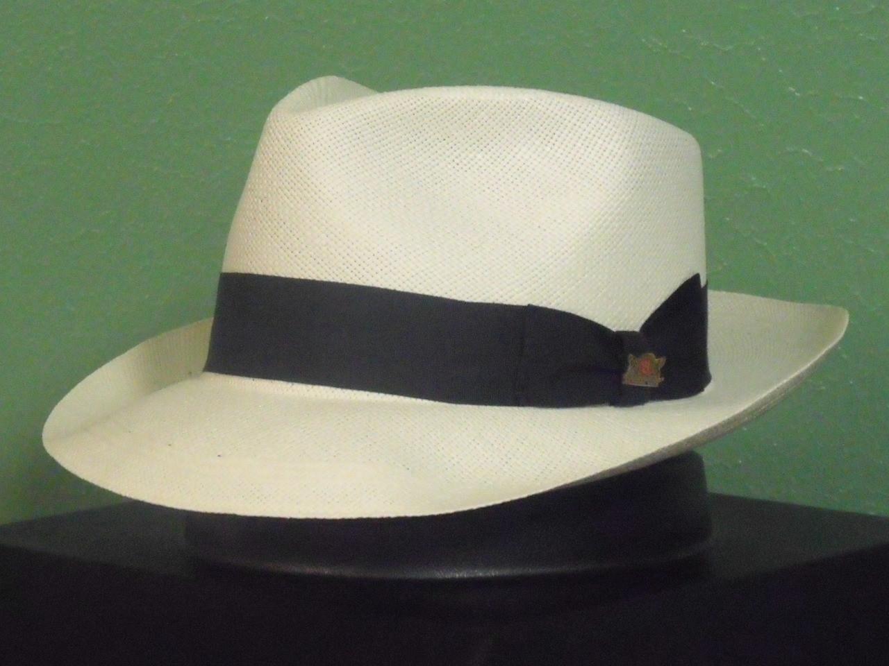 9d047777e05ae Biltmore Casa Blanca Genuine Panama Fedora Hat - One 2 mini Ranch