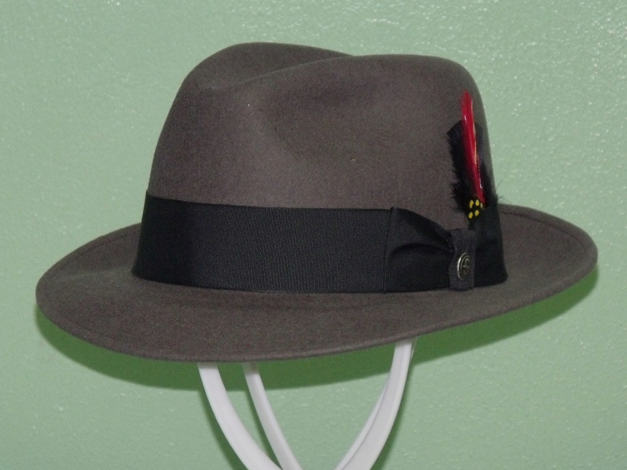 Stetson Frederick Wool Fedora Hat - One 2 mini Ranch d53706aa12f
