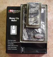 Nocona Mossy Oak Money Clip