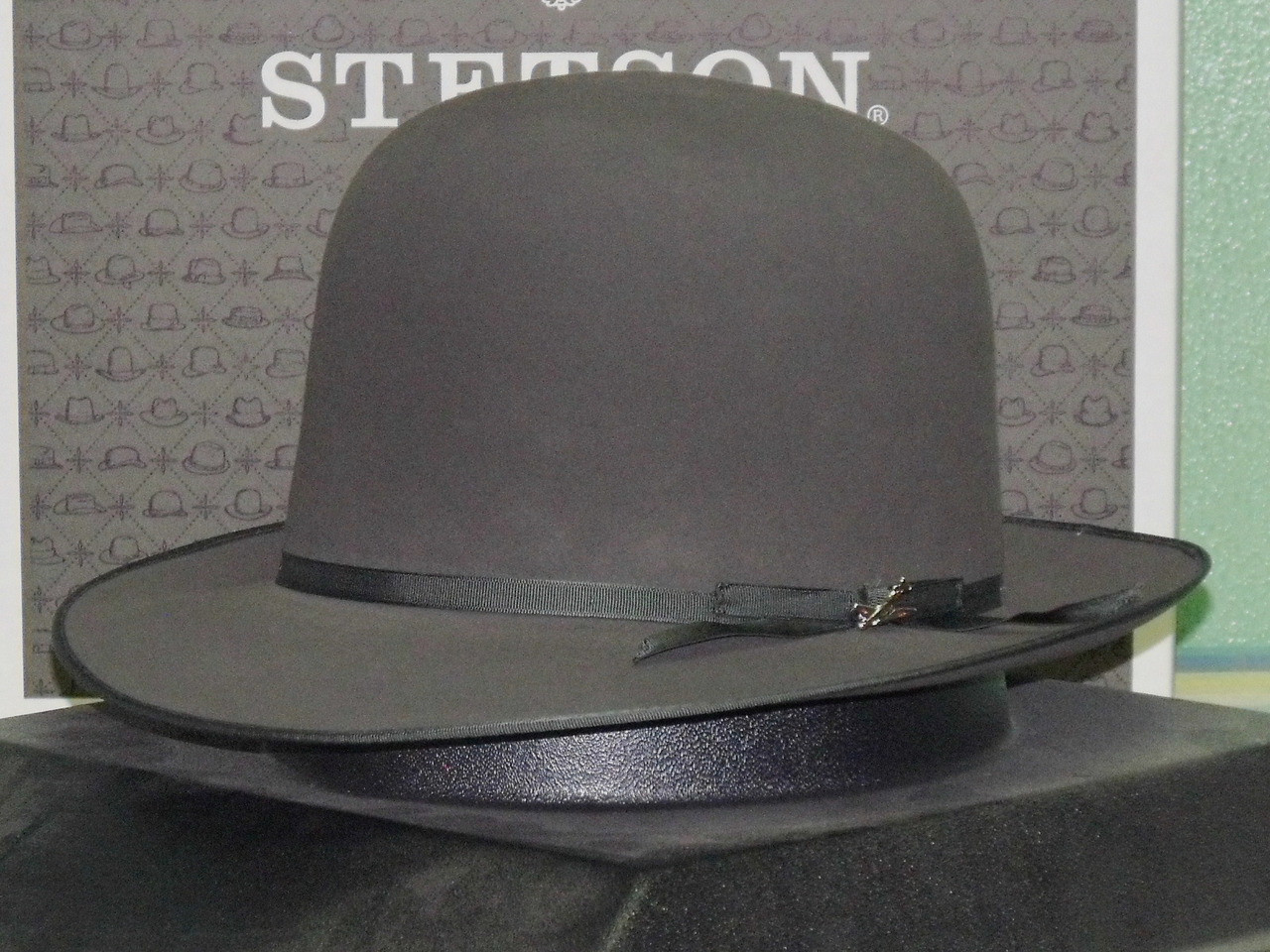 d446ef93b6266 Stetson Premier Stratoliner Open Crown Fur Fedora - One 2 mini Ranch