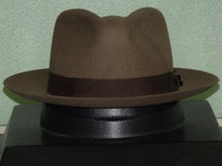9dce4ffcf Stetson Cruiser Crushable Wool Fedora Hat - One 2 mini Ranch