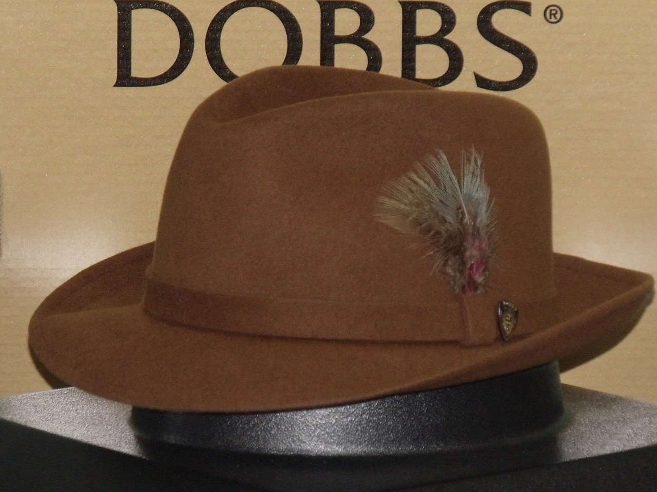 4bb43110 Dobbs Broadsteet Sueded Fur Felt Fedora Hat - One 2 mini Ranch