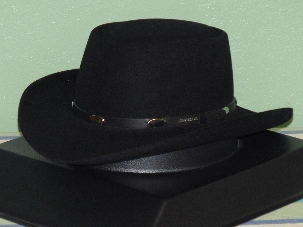 Stetson Royal Flush 5X Fur Gambler Western Hat - One 2 mini Ranch 8ca87c54e6a