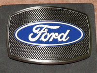 Ford Screen Stainless Steel Belt Buckle
