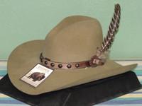 Stetson Broken Bow Buffalo Wool Cowboy Hat