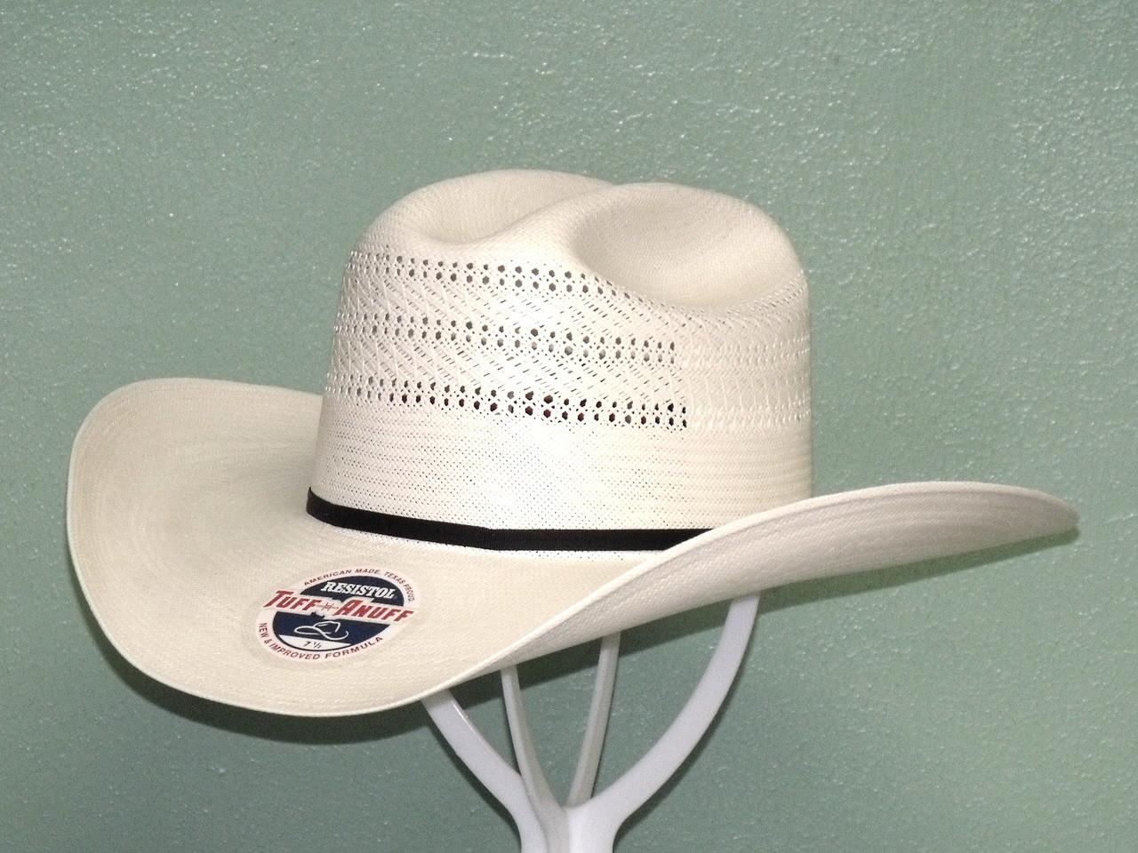 cb7edbdf7b3 Resistol Chase 20X Shantung Straw Cowboy Hat - One 2 mini Ranch