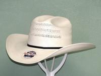 Resistol Chase 20X Shantung Straw Cowboy Hat