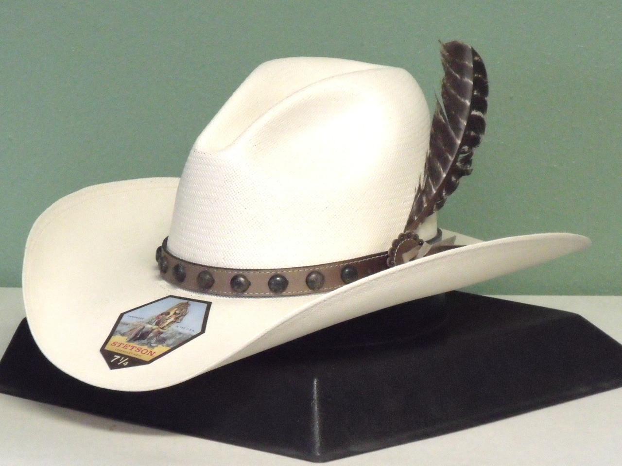 Stetson Broken Bow Shantung Straw Cowboy Hat - One 2 mini Ranch 1c744df47868