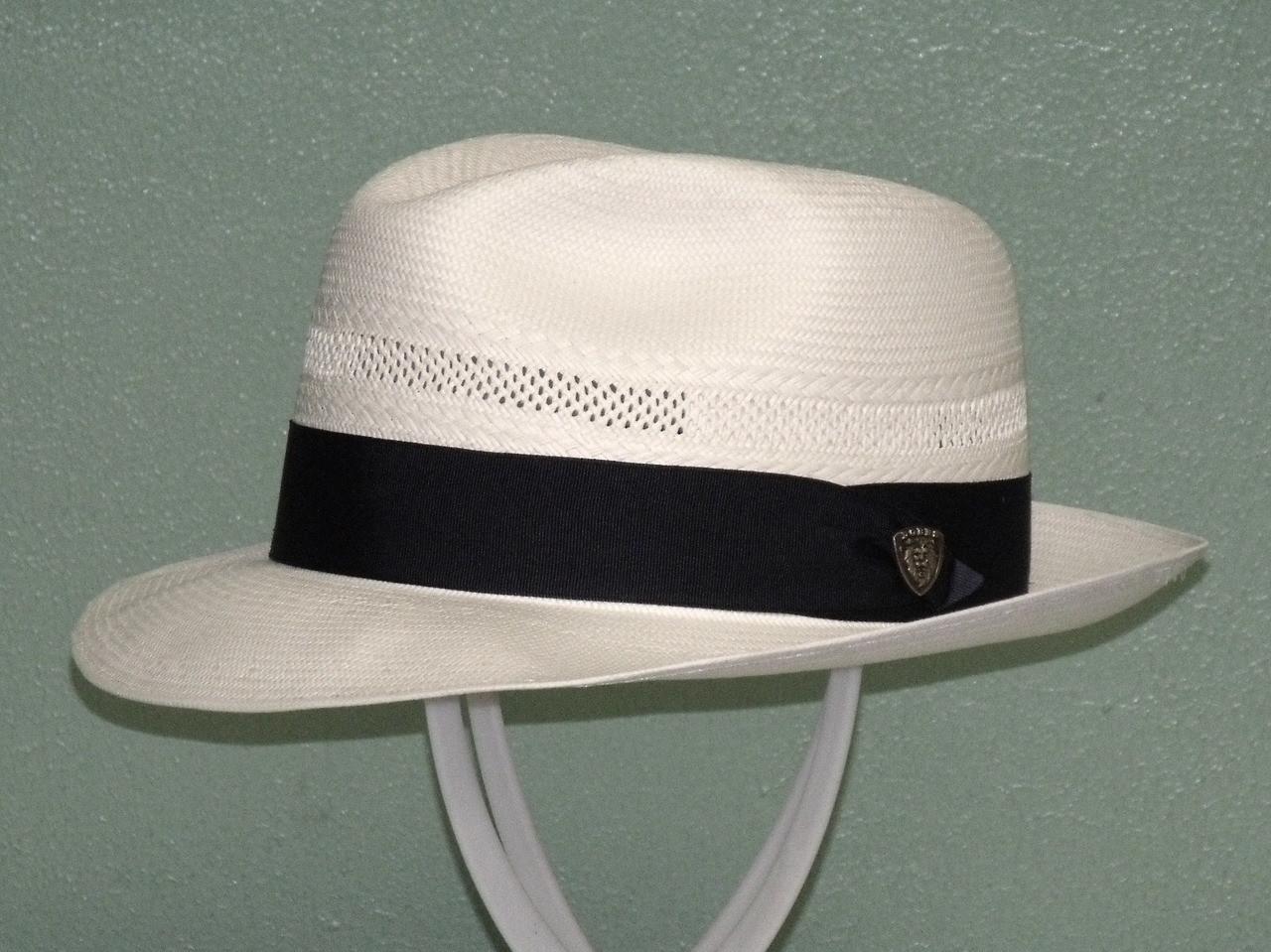 12ea2e683 Dobbs Vented Center Dent Shantung Fedora Hat - One 2 mini Ranch