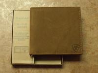 Ariat Large Distressed Leather Bi-Fold Wallet