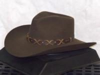 Stetson John Wayne Blackthorne Khaki Cowboy Hat