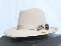 Stetson One Two Three Fur Felt Centerdent Hat