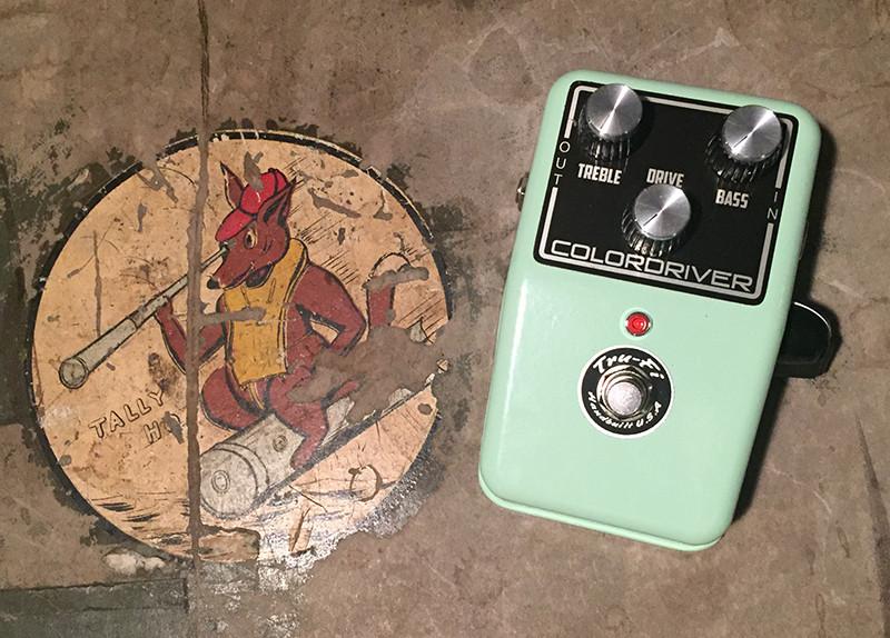 Tru-Fi Pedals Colordriver guitar pedal