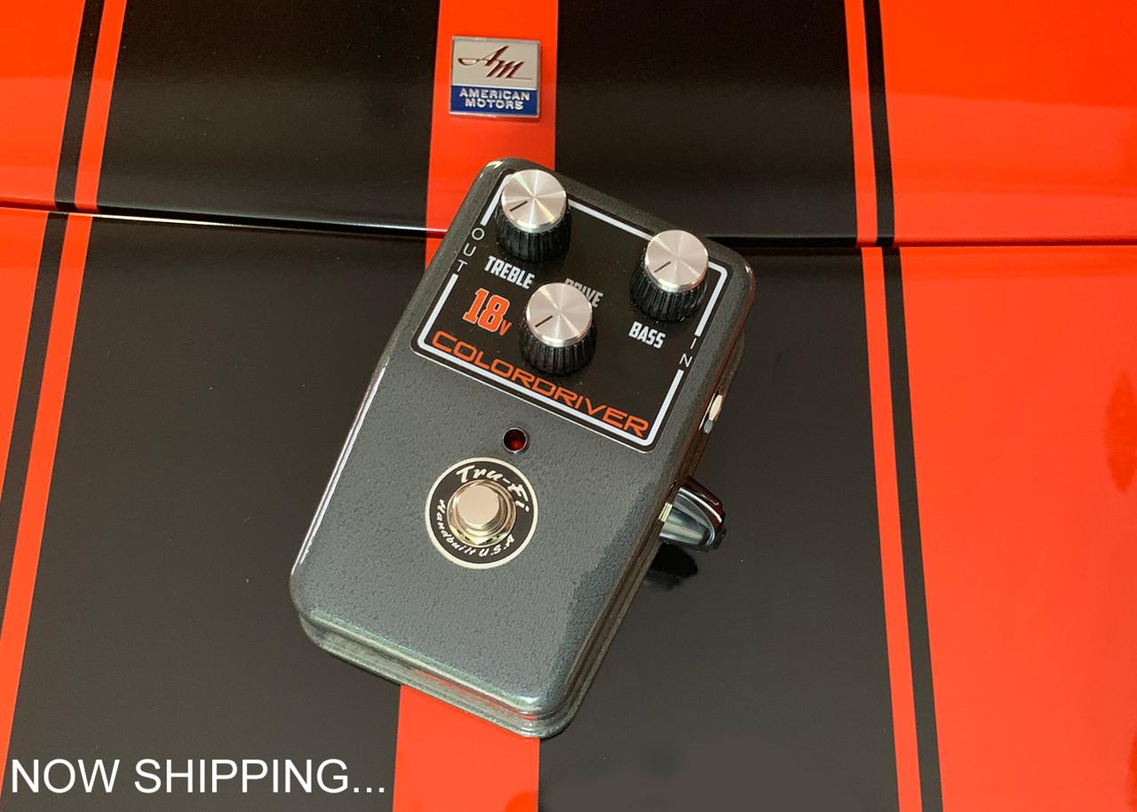 Tru-Fi Colordriver 18V version guitar pedal