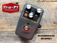 Tru-Fi Colordriver 18 Volt Version Overdrive Fuzz Guitar Pedal