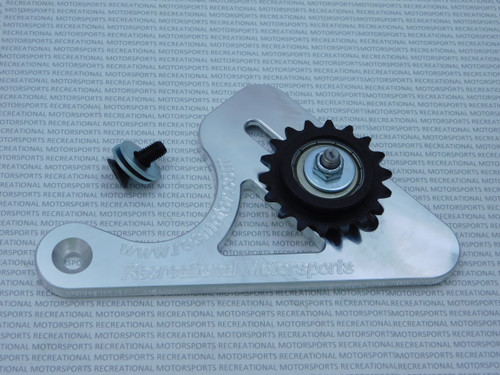 Chain tensioner for the 35 chain