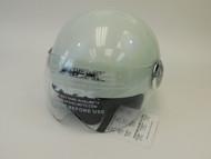 White AFX Helmet (NEW)