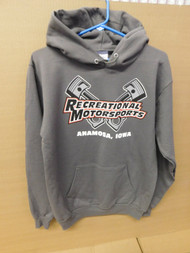 Charcoal Cross Piston Hoodie