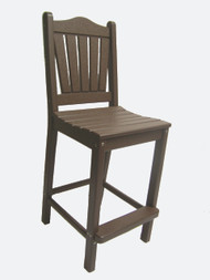 TRADITIONAL DINING CHAIR BAR HEIGHT