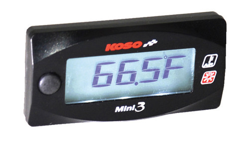 KOSO MINI 3 AMBIENT AIR TEMPERATURE METER