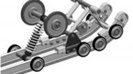 Rear Wheel kit for Arctic Cat ZR 200 and Yamaha 200