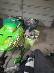2005 ARCTIC CAT 120 SNOWMOBILE