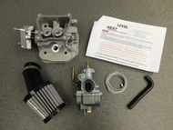 Performance Head & Carb Kit for Yamaha Snoscoot & Arctic Cat ZR 200