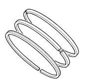 Snoscoot/ZR 200 Piston Ring Options