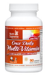 Multi-Vitamin Once Daily- 90 capsules