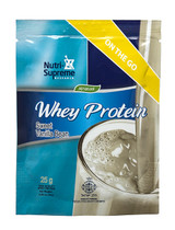 Whey Protein On The Go, Sweet Vanilla Bean