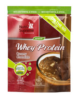 Whey Protein On The Go, Creamy Chocolate (With Stevia & Erythritol)