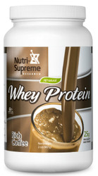 Whey Protein Rich Coffee Flavor  2 lb