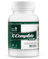 K-Complete: with K1, K2 as MK-4  and K2  as MK7-  90 Veg Capsules