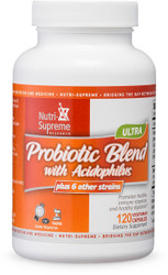 Probiotic Blend with Acidophilus- 120 capsules
