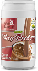 Whey Protein Creamy Chocolate 1 lb  (With Stevia & Erythritol)