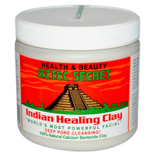 Aztec Secret, Indian Healing Clay, 1 lb (454 g)印度神泥深層清潔毛孔面膜粉