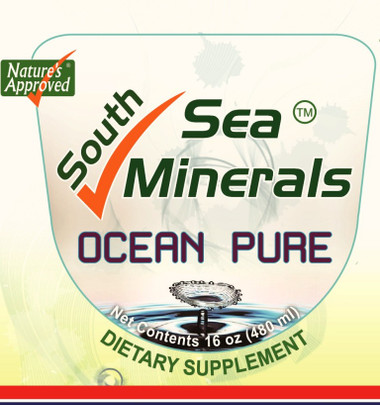 OCEAN PURE South Sea Minerals is a highly concentrated, rich source of soluble minerals and trace elements