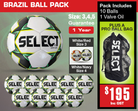 BRAZIL BALL PACK [From: $195.00]