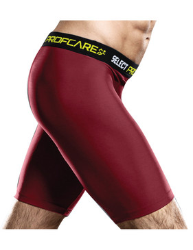 COMPRESSION SHORT BURGUNDY [From: $45.00]