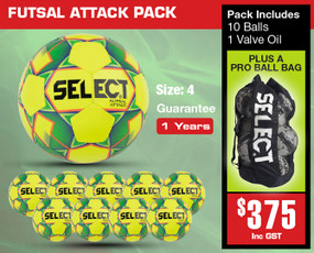 ATTACK WHITE PACK [From: $375.00]