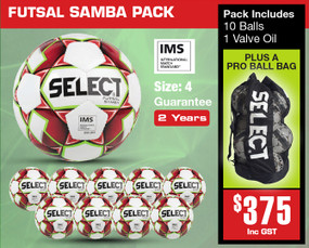 SAMBA PACK [From: $375.00]