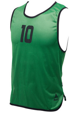 NUMBERED BIBS - GREEN #1-16
